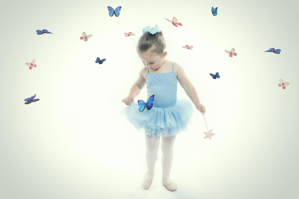 Bloch tutu baby blue