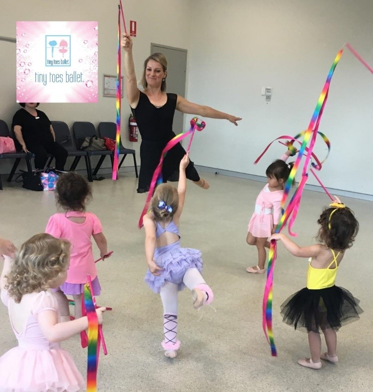 Kids and Tiny Tots Ballet Dance Class Sydney