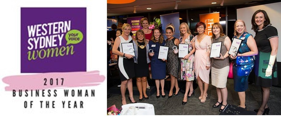 Western Sydney Business Woman of the Year 2017