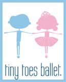 Tiny Toes Ballet Logo